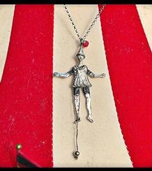 Circus pendant, small Articulated Harlequin