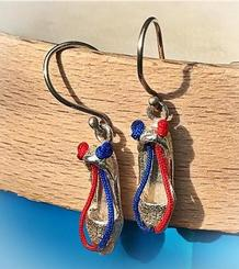 Espadrille Earrings