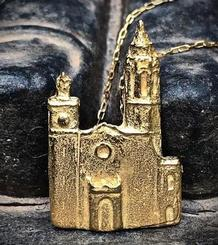 La Punta Big Pendant gold plated