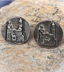 La Punta Medallion Earrings