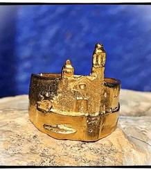 La Punta Realist Ring gold plated