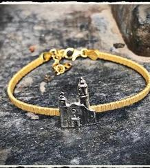 LA Punta Silver Bracelet gold plated