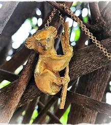 Koala Pendant gold plated