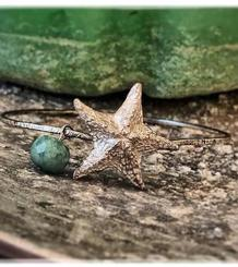 Starfish and Turquoise Bracelet