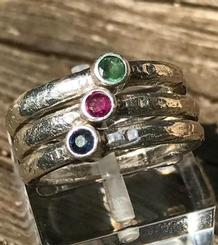 Triple Color Ring
